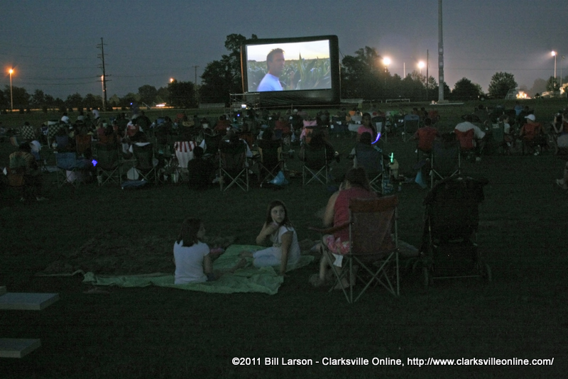 ... at Movies in the Park a real crowd-pleaser : Discover Clarksville TN