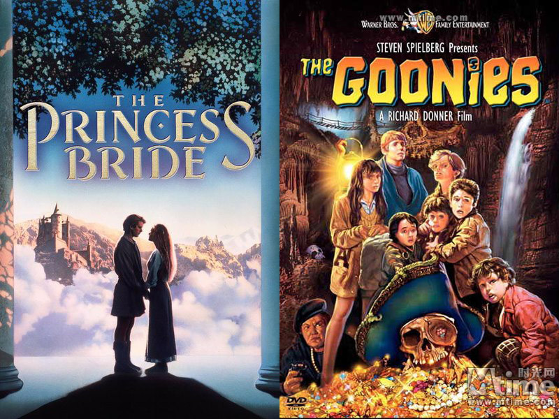 "... Princess Bride"" and ""The Goonies"" Saturday at Movies in the Park"