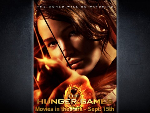 "The Hunger Games"" at Movies in the Park this Saturday, September 15th ..."